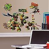 Roommates Teenage Mutant Ninja Turtles Peel and Stick Wall Decals, RMK2246SCS