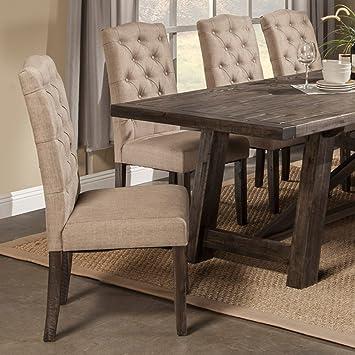 Alpine Furniture Newberry Parson Chairs   Set Of 2