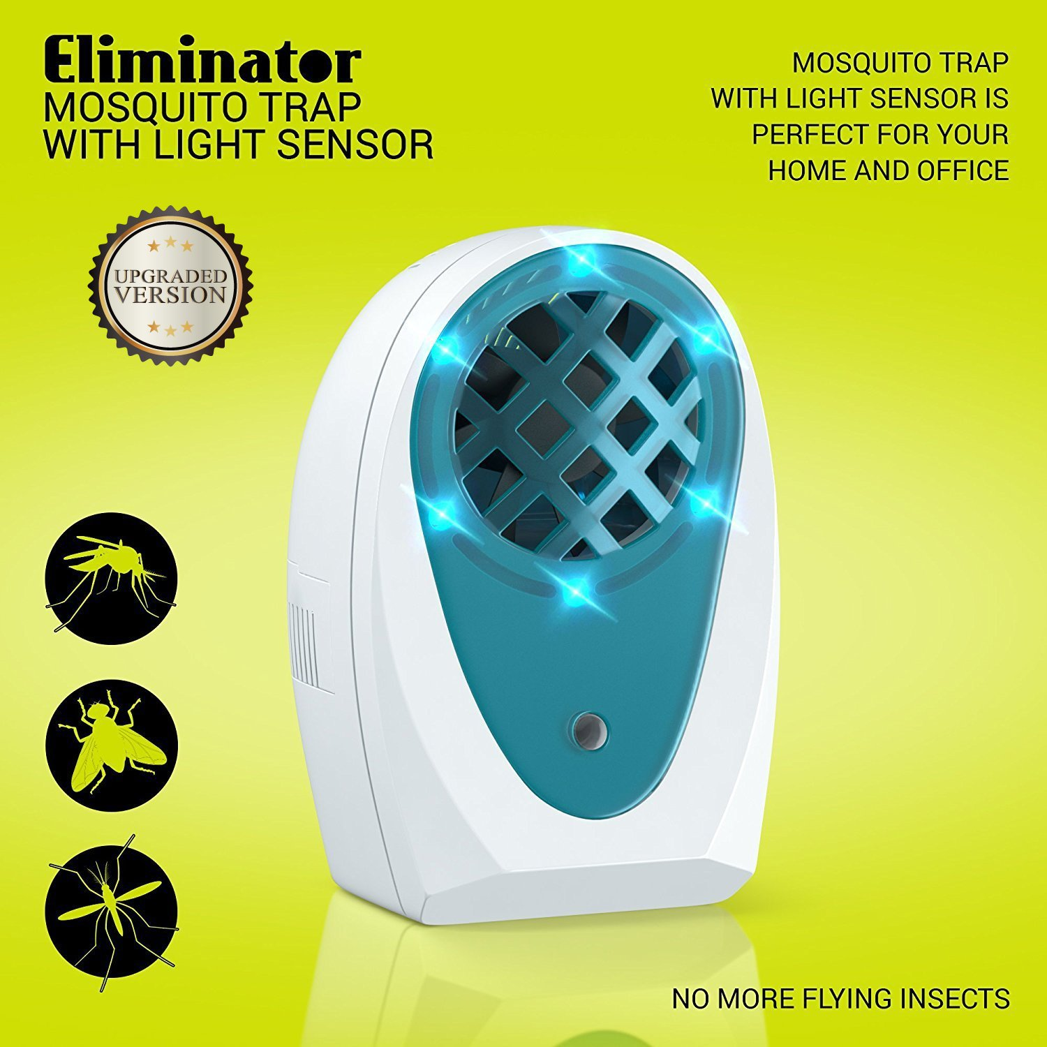 Eliminator Indoor Plug-in Mosquito and Fly Trap by Eliminator (Image #1)