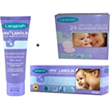 Lansinoh HPA Lanolin Cream 40ml and 24 Disposable Nursing Pads