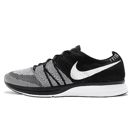 Nike Men's Flyknit Trainer, Black/White