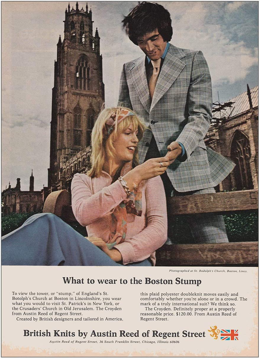 Amazon Com 1973 Austin Reed Of Regent Street Boston Stump Austin Reed Print Ad Posters Prints