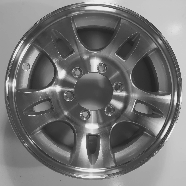 16 x 6 Aluminum Bullet T03 Trailer Wheel 6 Lug, 3,580 lb Capacity