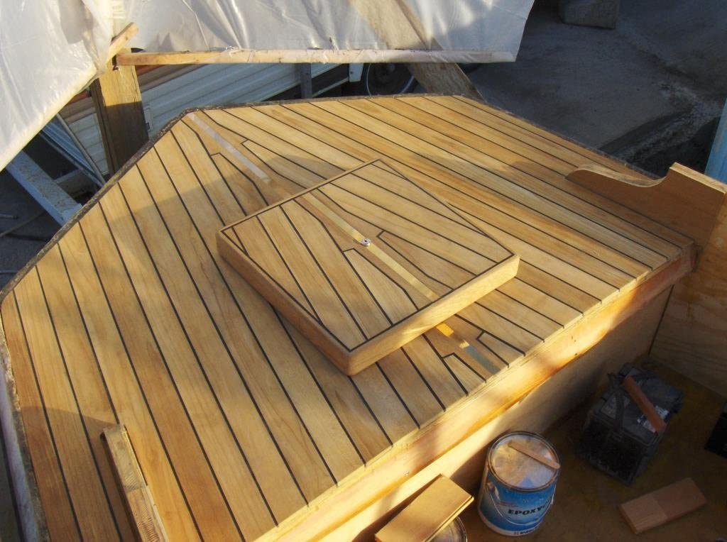"""36/"""" long TEAK WOOD Tongue /& Groove-100/% heartwood great for boats 40 square ft"""