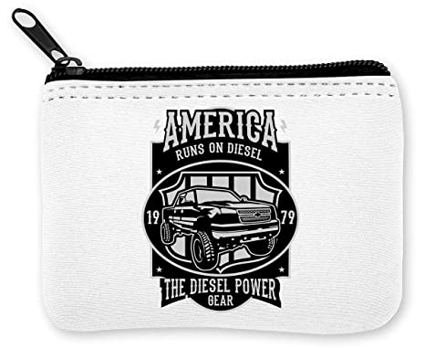Runs On Diesel America The Diesel Power Gear Monedero de la ...