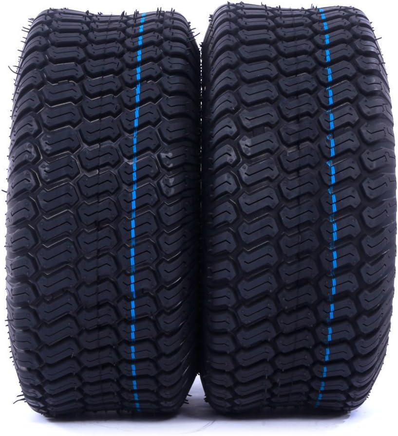 Amazon.com: 2 ruedas giratorias de 15 x 6.00 – 6 para césped ...