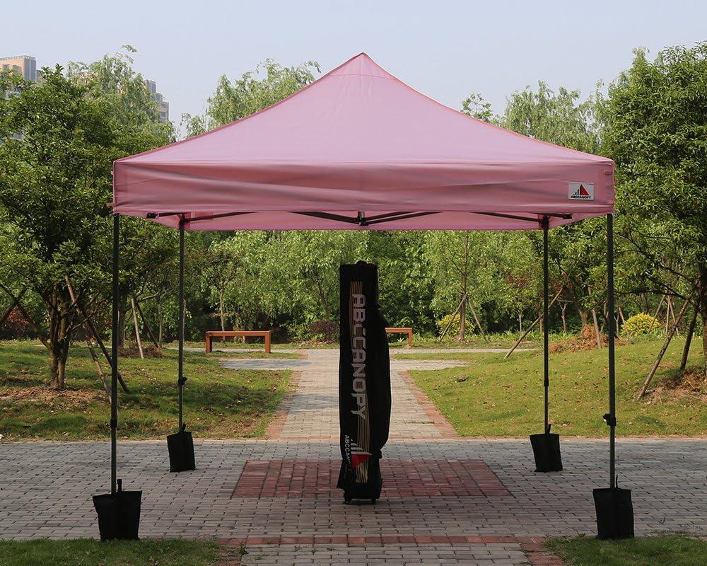 Abcanopy - Tienda de campaña con toldo de malla blanca a juego (18 + colores) 10 x 10: Amazon.es: Jardín