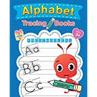 Alphabet Tracing Books for Preschoolers: Letter Tracing Book for Kids Ages 3-5