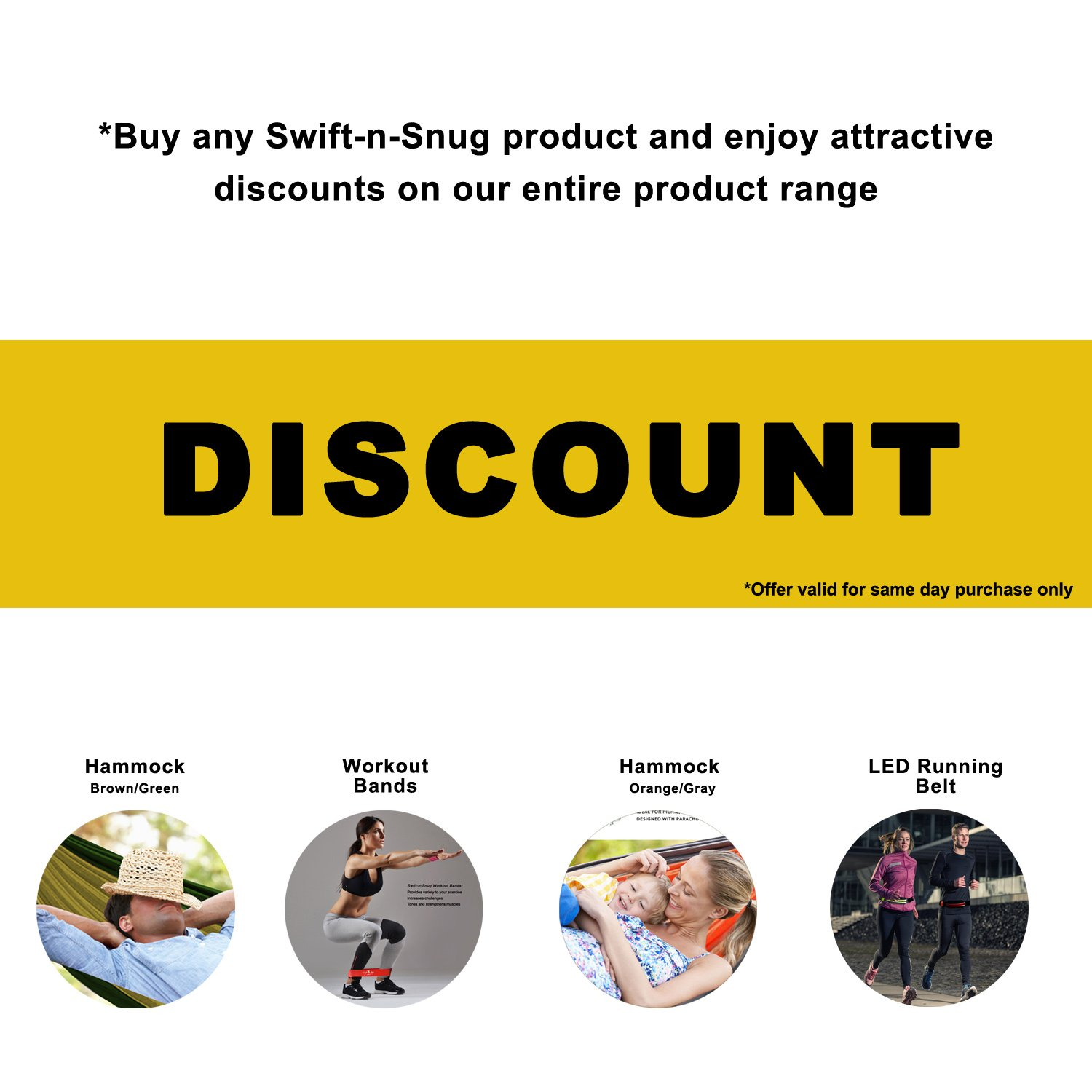 For A Toned Body Heavy Best Workout Bands From Swift-n-Snug Medium /& Light In Free Nylon Carry Pouch Set of 4 Resistance Exercise Bands : X-Heavy