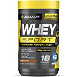 Cellucor Whey Sport Protein Powder Chocolate   Post Workout Recovery Drink with Whey Protein Isolate, Creatine & Glutamine  