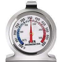 Termómetro de Acero Inoxidable para Horno, LETTURE Termómetro de Esfera Grande de Horno Termómetro, Ahumador de Parrilla…