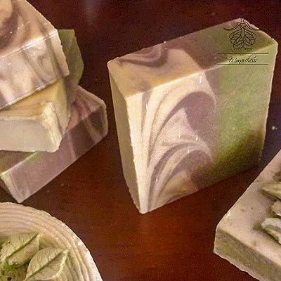 Monarchess Natural Luxuries Shea Butter Saffron Soap/colored