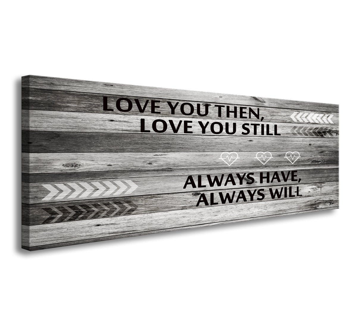 A71841 Canvas Wall Art Love You Still Large Wall Art (Ready to Hang) for Master Bedroom Wall Decor by DZL Art