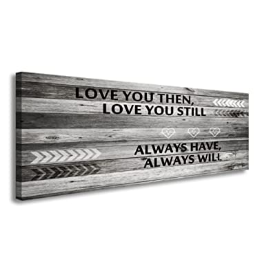 A71841 Canvas Wall Art Love You Still Large Wall Art (Ready to Hang) for Master Bedroom Wall Decor
