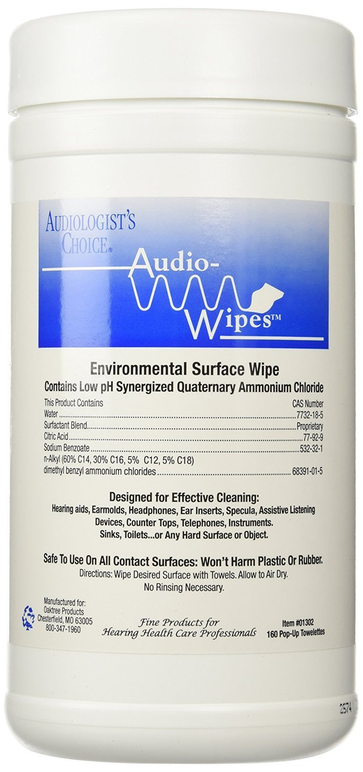 Audiowipes - Audiowipes 160 Count