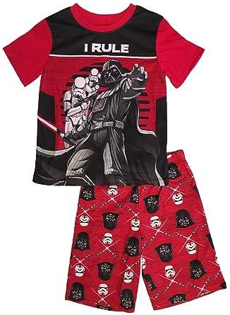 a354fe968 AME Star Wars Darth Vader PJS Pajama Sleep Wear Set For Boys (X-Small