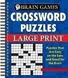 Brain Games Crossword Puzzles Large Print (Brain Games (Unnumbered))