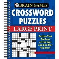 Brain Games® Crossword Puzzles - Large Print (Brain Games (Unnumbered))