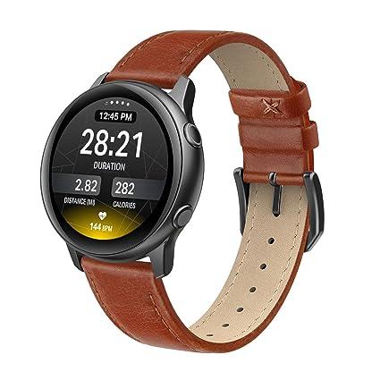 Amazon.com: Swees Correa de cuero compatible con Samsung ...