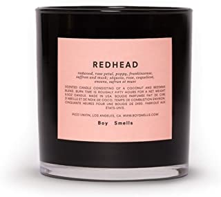 product image for Boy Smells Redhead Candle | 50 Hour Long Burning Candles | All Natural Beeswax & Coconut Wax Candle | Luxury Scented Candles (8.5 oz)