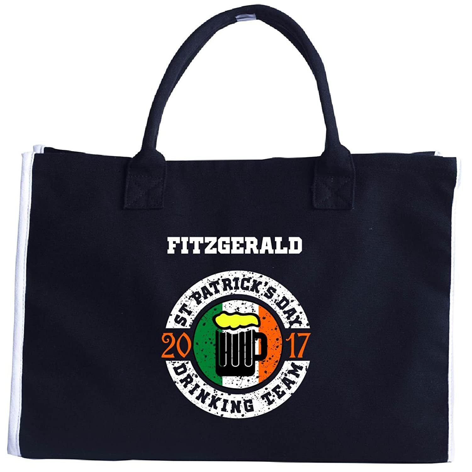St Patricks Day Fitzgerald 2017 Drinking Team Irish - Tote Bag