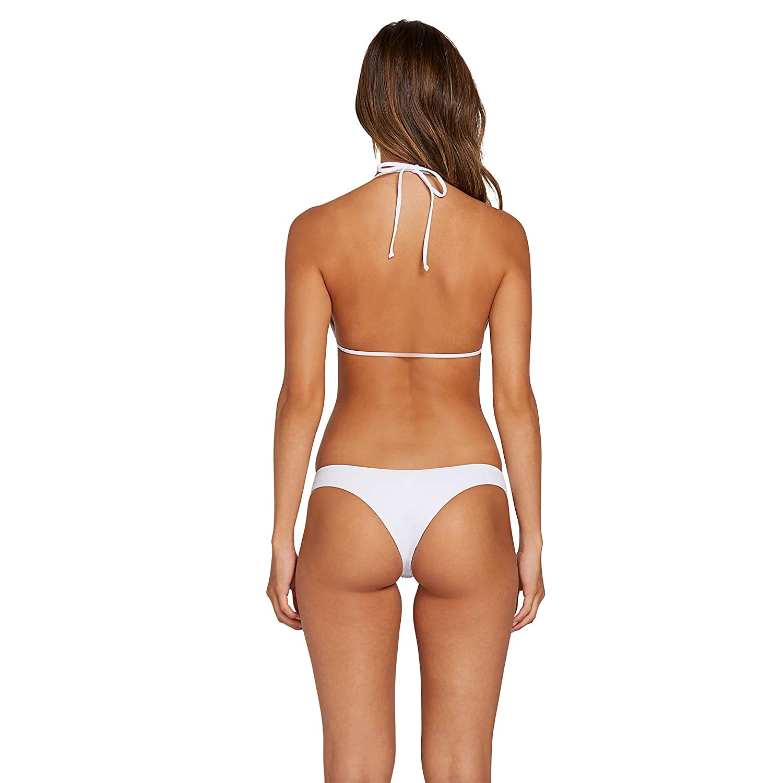 Volcom Womens Simply Solid Triangle Bikini Top