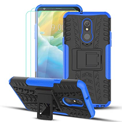 Numy Lg Stylo 5 Case Lg Stylo 5 Stylo 5v Stylo 5 Plus Phone Case W 2pcs Hd Screen Protector Dual Layer Shockproof Protective Case Attractive Tire