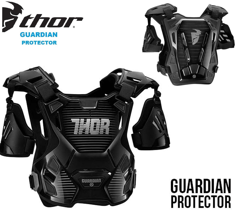 Protettori per Torace Thor S17 Guardian Adulti Armatura Moto Cross off Road protettore del Corpo Pettorina MX Quad Scooter Enduro Sportivi Giacca