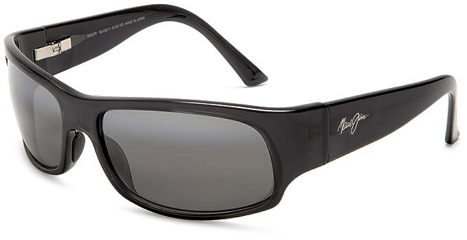 Maui Jim Longboard rectangular gafas de sol polarizadas: Amazon.es: Ropa y accesorios