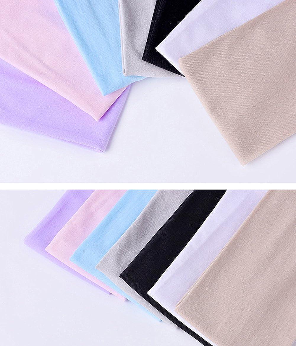 Qingsun Unisex Fingerlos Sonnenschutzmanschetten Sonnenschutz-Arm-Abdeckungs-H/ülse Eisseide Fahrrad Auto Sleeve Sommer