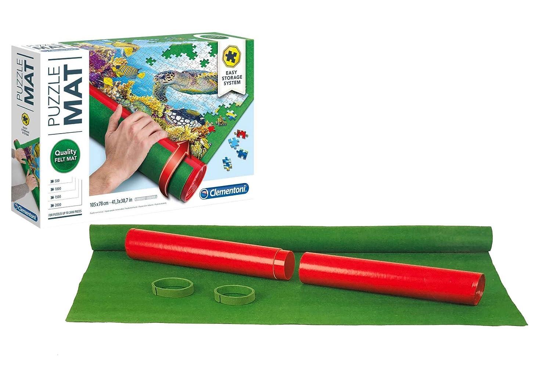 Outletdelocio Puzzle Roll Clementoni 30297. Tapete universal para transportar/guardar puzzles hasta 2000 piezas: Amazon.es: Juguetes y juegos