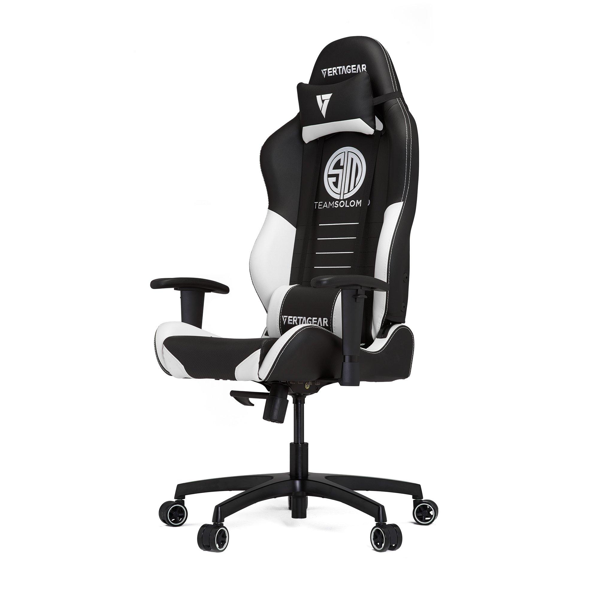 Vertagear TSM Racing Series Gaming Chair,Large,Black/White by VERTAGEAR