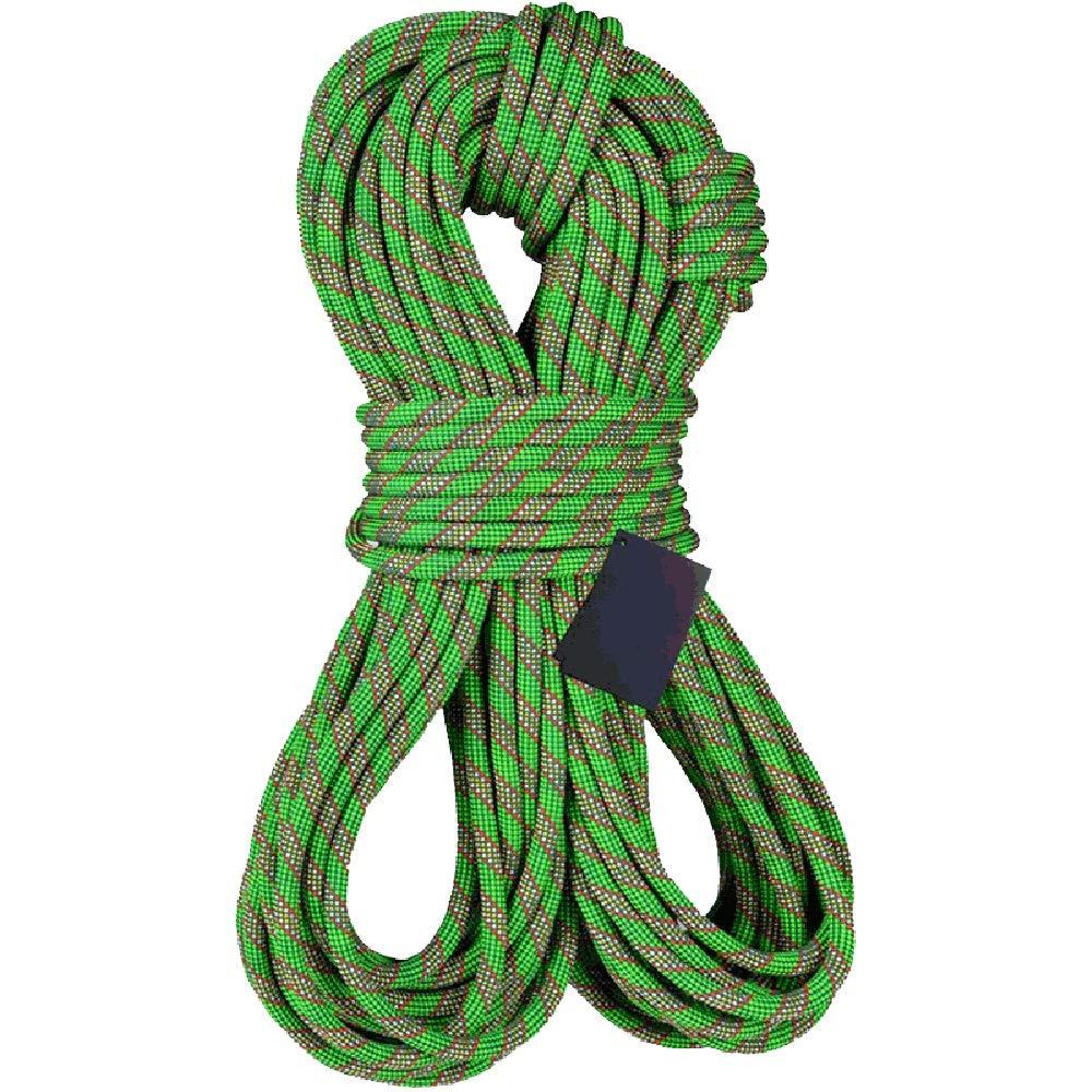 ロープ 屋内屋外のジムクライミングロープロープ丈夫グレートを懸垂下降静的ロッククライミングロープ11MMアウトドア安全ロープ (Size : 50m(164ft))  50m(164ft)