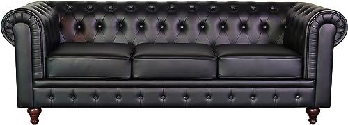 US Pride Furniture Sofa Black