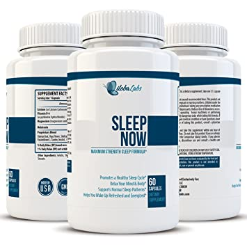 Natural Sleep Aid with Valerian & Melatonin - Best For Relaxing, Lowering Anxiety, &