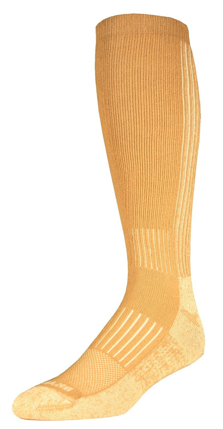 Drymax Hiking HD Over Calf Socks, Tan, Small by Drymax