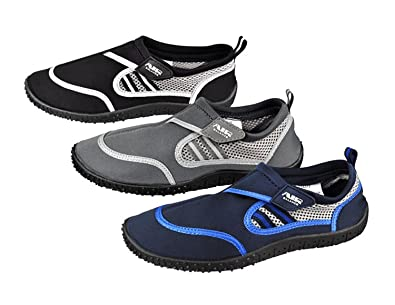 65e4191af604 Air Balance Mens Aqua Shoe Water Shoes Big Sizes 13 14 Exercise Beach Pool ( 13