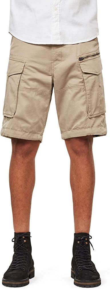 TALLA 38. G-STAR RAW Rovic Zip Loose 1/2 Pantalones Cortos para Hombre