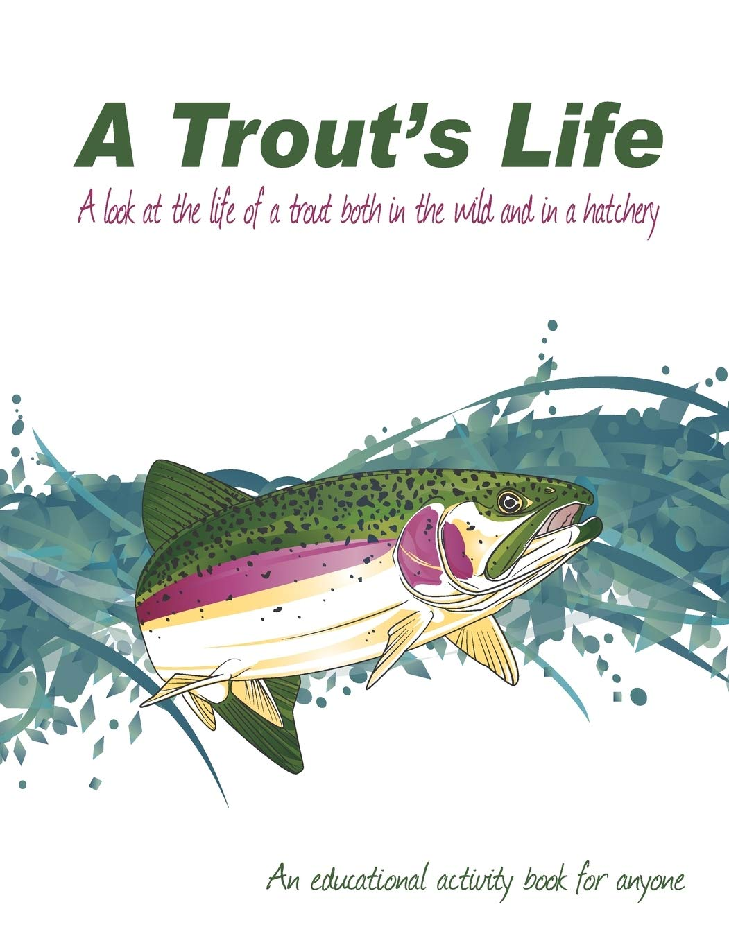 Amazon Com A Trout S Life A Look At The Life Of A Trout Both In The Wild And In A Hatchery Trout Coloring Book 9781689986212 Hailey Kyle Williams John Books
