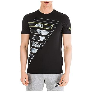 Emporio Armani EA7 Hombre Camiseta Nero XL: Amazon.es: Ropa y ...