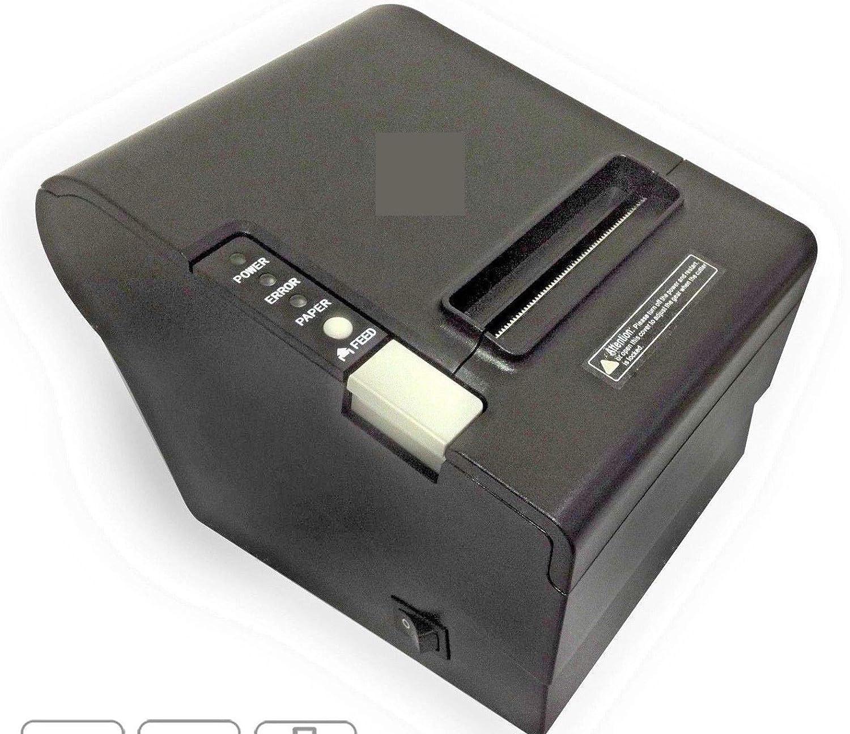 Impresora térmica de 80 mm POS con Puerta USB + RS232 C + Ethernet ...