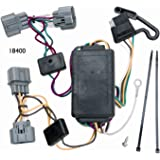 amazon com vehicle to trailer wiring harness connector for 07 11 vehicle to trailer wiring harness connector for 06 12 honda ridgeline plug play