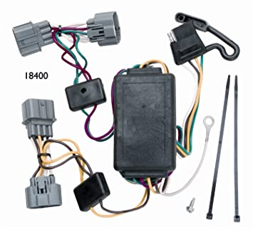 com vehicle to trailer wiring harness connector for  vehicle to trailer wiring harness connector for 06 12 honda ridgeline plug play