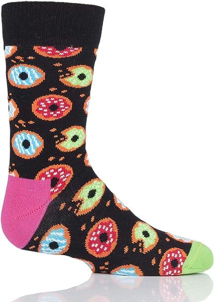 Happy Socks - Calcetines de algodón para niño y niña: Amazon.es ...