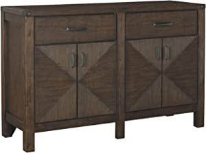 Signature Design by Ashley Dellbeck Dining Room Server, Brown