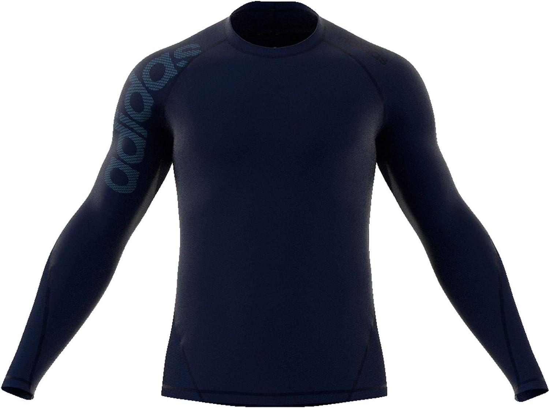 Hombre adidas Alphaskin Sport Longsleeve tee Bos T-Shirts