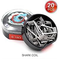 20 PCS Vapethink Shark Coil Bobina de Vaper