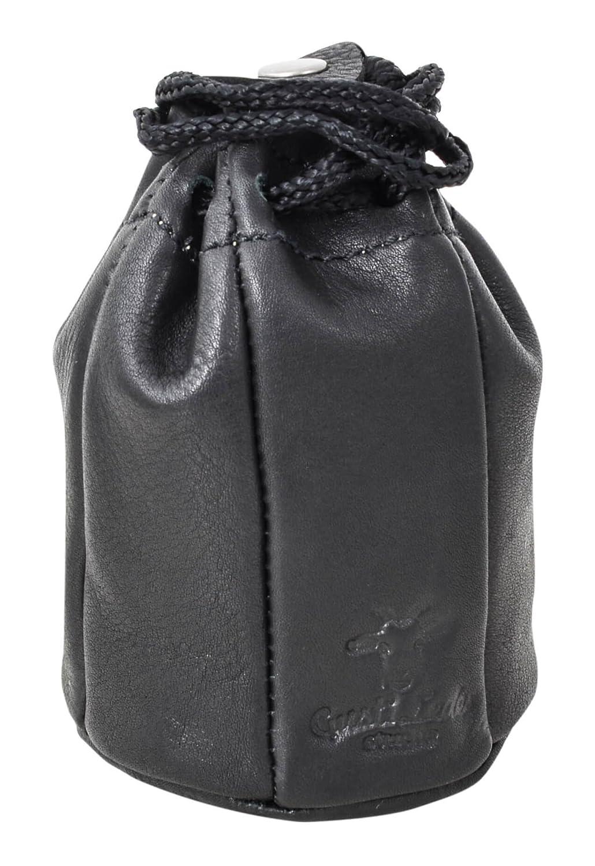 Gusti Leder Studio Tabaktasche aus Leder ''Raven'' Tabaktasche Innenstoff aus Naturkautschuk Unisex Schwarz 2T7-22-9