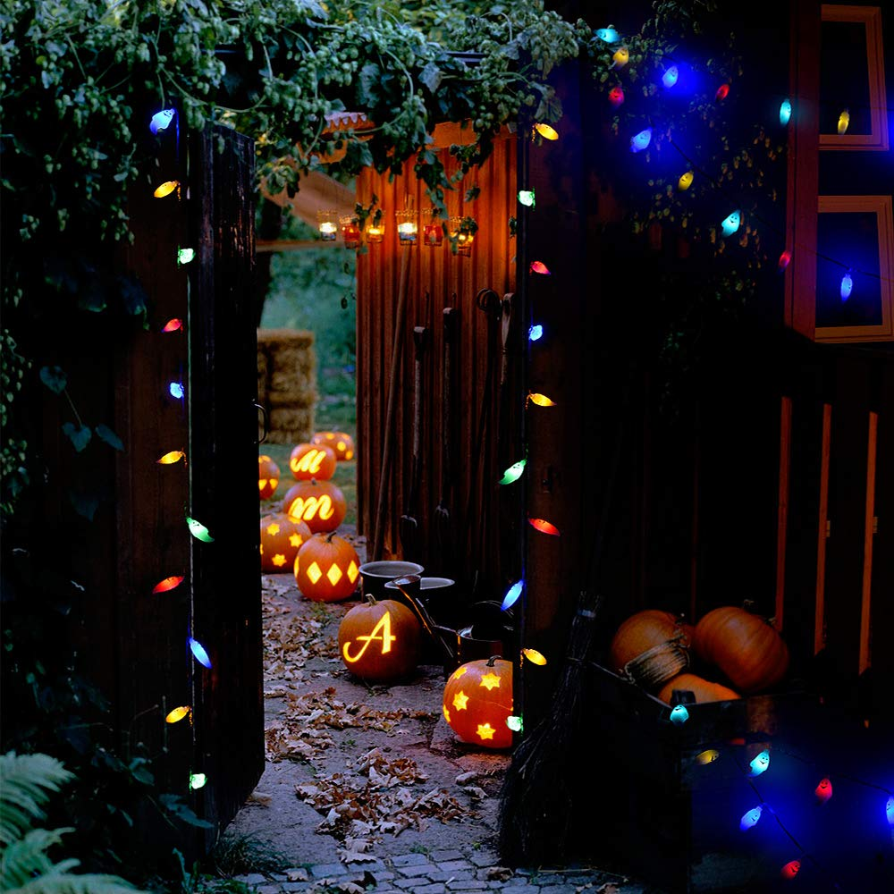 Halloween String Lights, Halloween Light Decoration By