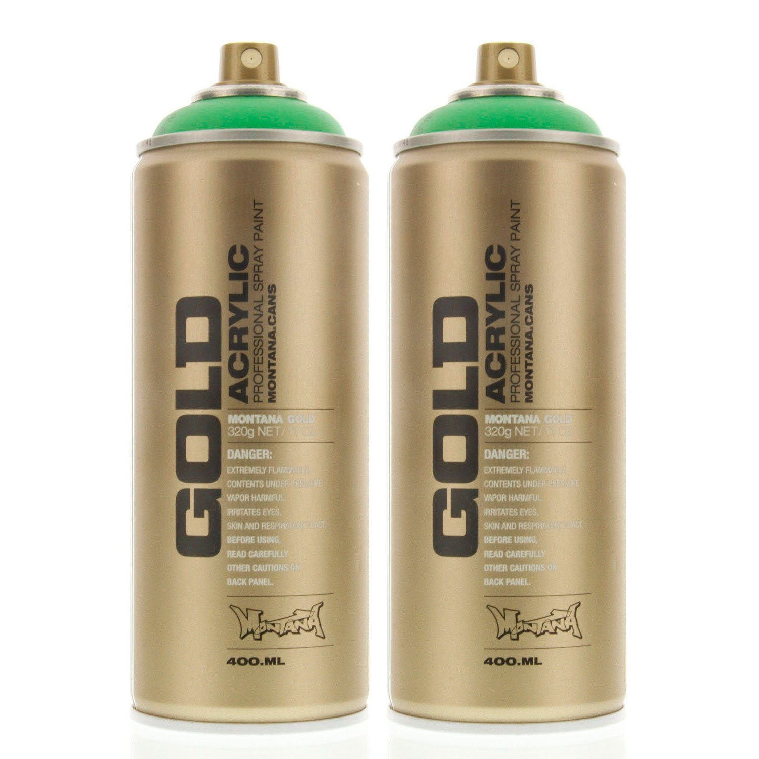 Amazon Montana Gold Acrylic Spray Paint Acid Green Pack Of 2 Cans